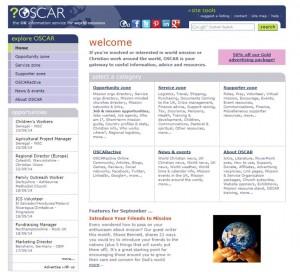 Oscar website