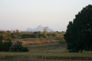 Typical scenery in Mozambique