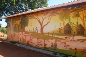 Mural at Africa 180