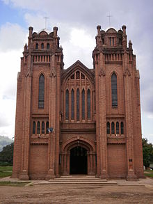 Contextualisation?  A 19th century church building in Malawi  (Source: Wikipedia)