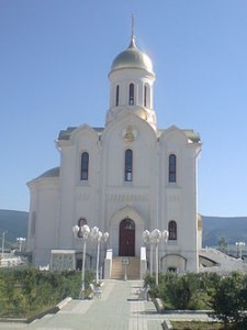 The Orthodox church of the Holy Trinity in Ulan Bataar