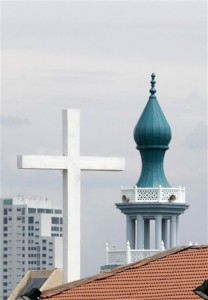 Church and mosque - mutually exclusive or is there an overlap?