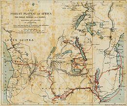Livingstone's travels in Africa