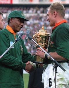 Mandela rugby shirt
