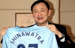 Former PM Thaksin Shinawatra