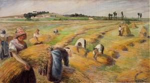 Camille Pissarro - the Harvest