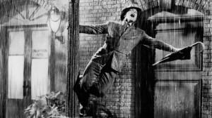 "Gene Kelly in ""Singin' in the Rain"""