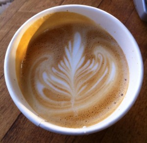 Photo courtesy of ace barista Simon C Bright