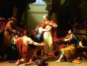 Tardieu: Joseph recognised by his brothers (1788)