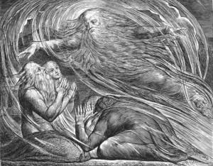William Blake: Job's vision of God